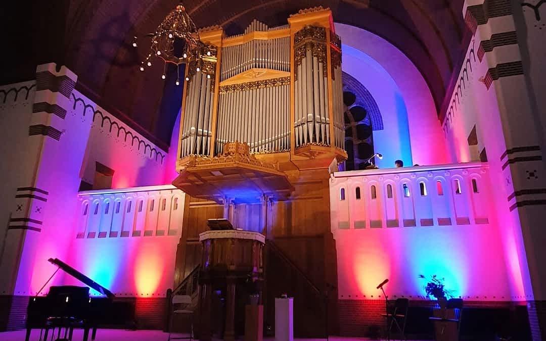 Steinmeyer-orgel met bijzondere lichtshow weer in gebruik genomen