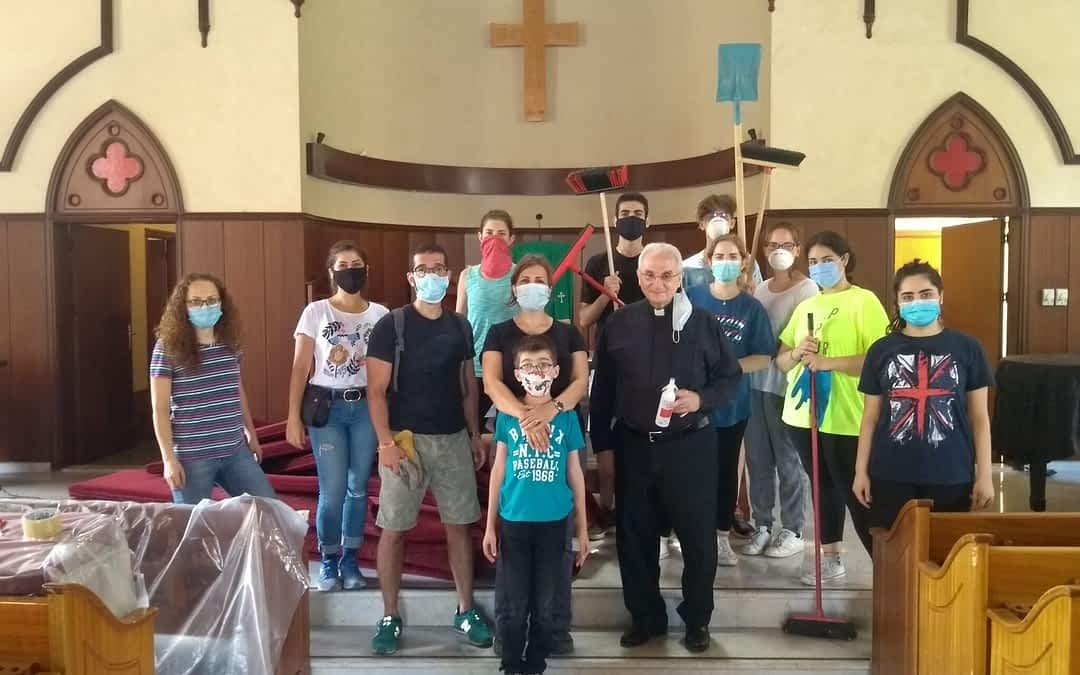 Kerk en geloof bieden houvast in Beiroet